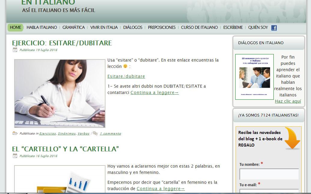 01 Cursos de italiano gratis